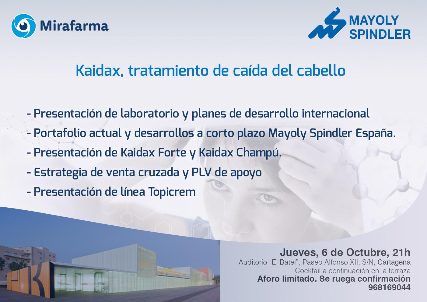 FORMACIÓN por MAYOLY SPINDLER en Cartagena