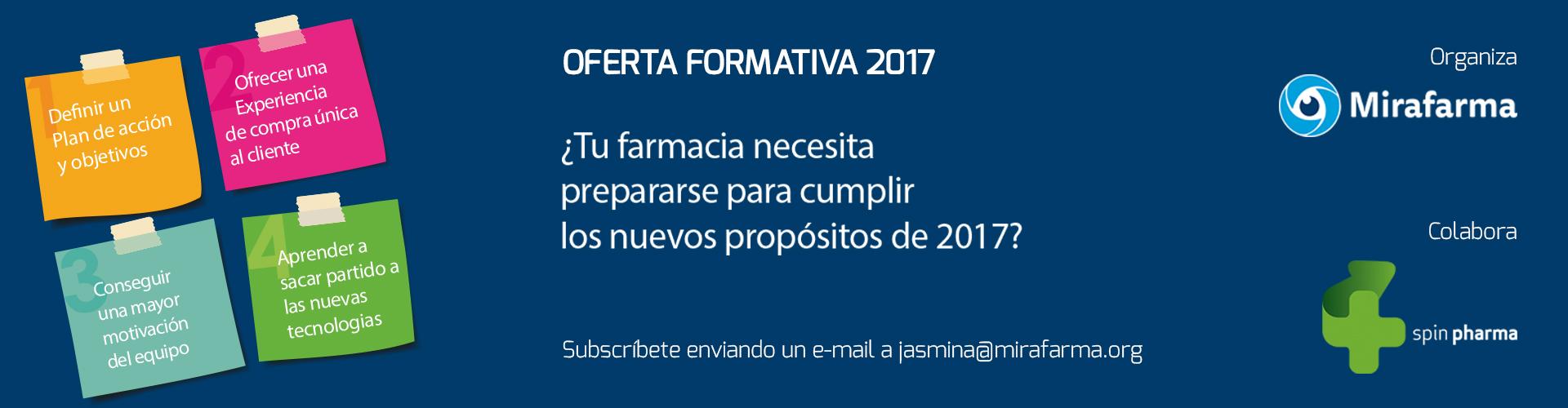 EVENTOS MIRAFARMA & SPINPHARMA 2017