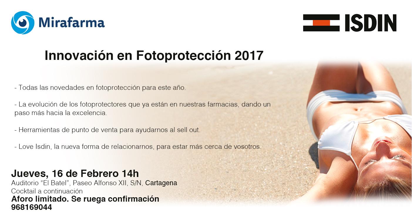 INNOVACIÓN EN FOTOPROTECCIÓN ISDIN 2017
