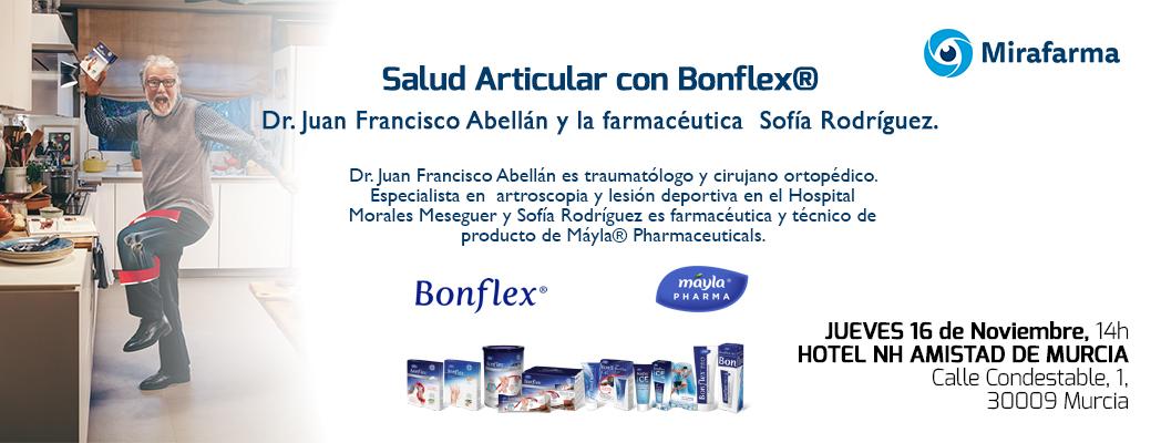 Mirafarma y Mayla: Formación Cuidado de articulaciones – Bonflex