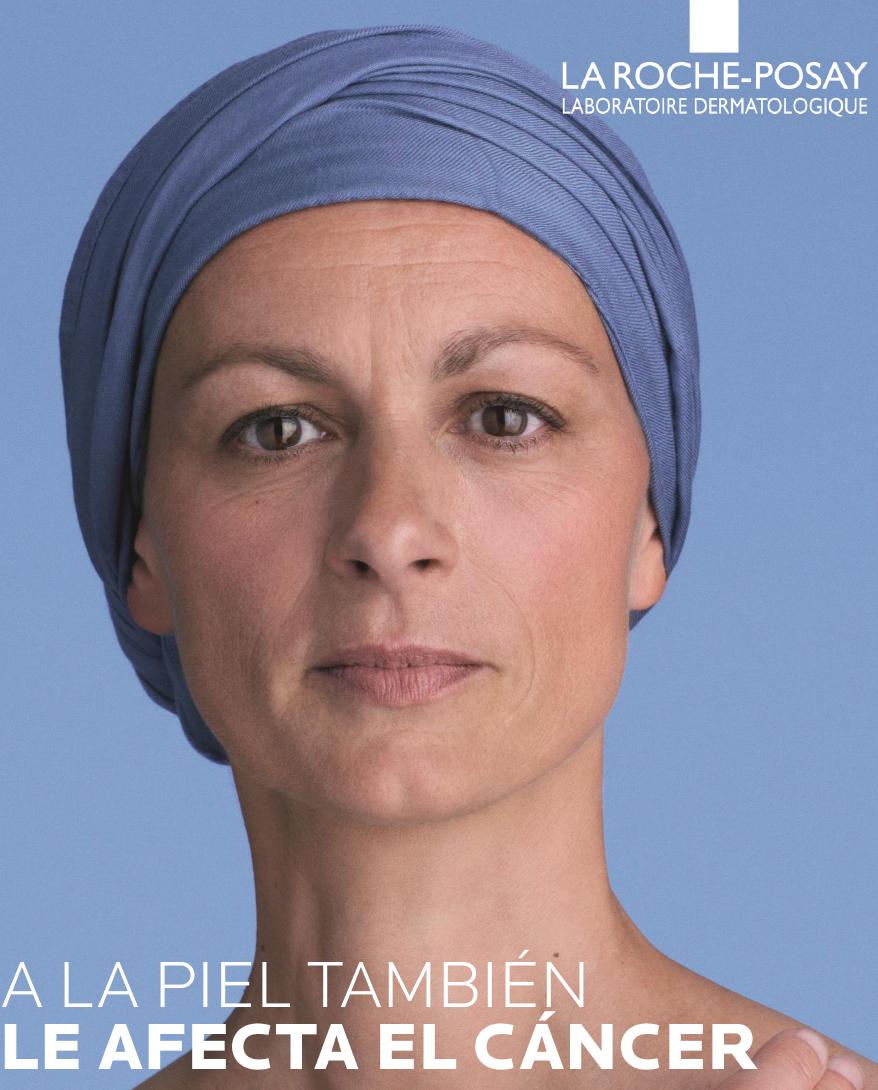 """""""A la piel también le afecta el cáncer"""" Roche Posay"""